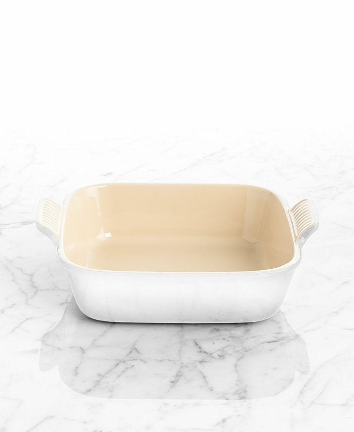 "Le Creuset - Square Baker, 9"" Heritage Baking Dish"