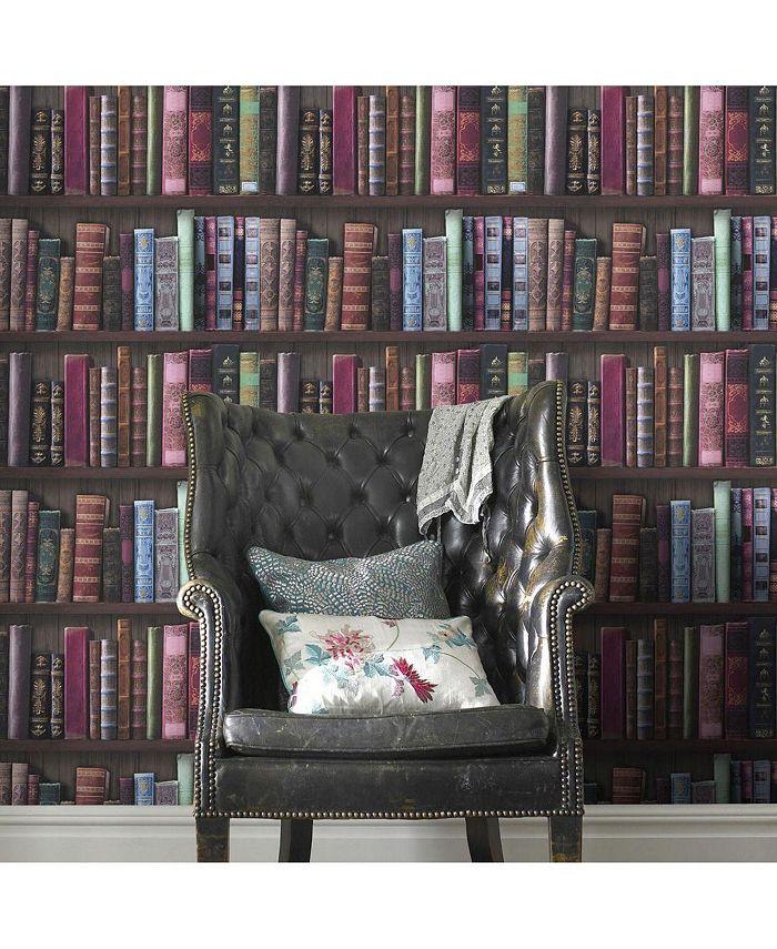 Graham & Brown - Book Shelf Wallpaper