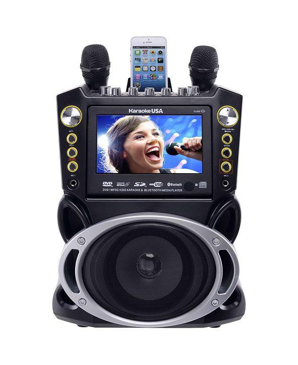 Karaoke USA GF844 DVD/CDG/Mp3G Machine