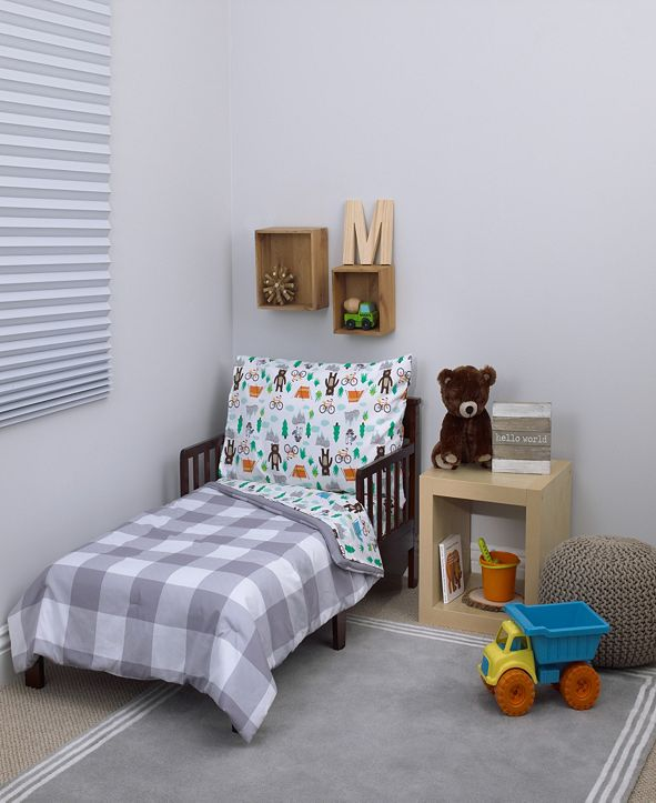 Carter's Woodland 4-Piece Toddler Bedding Set