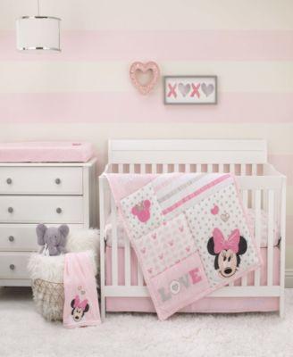 Minnie Mouse Love to Love 3-Piece Crib Bedding Set