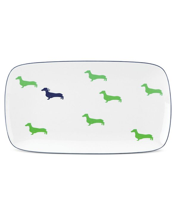 kate spade new york Dinnerware, Wickford Hors D'oeuvres Tray
