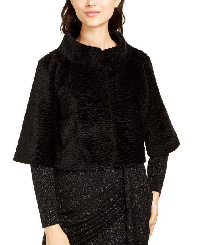 Vince Camuto Faux-Fur Shrug & Reviews - Women's Brands - Women - Macy's