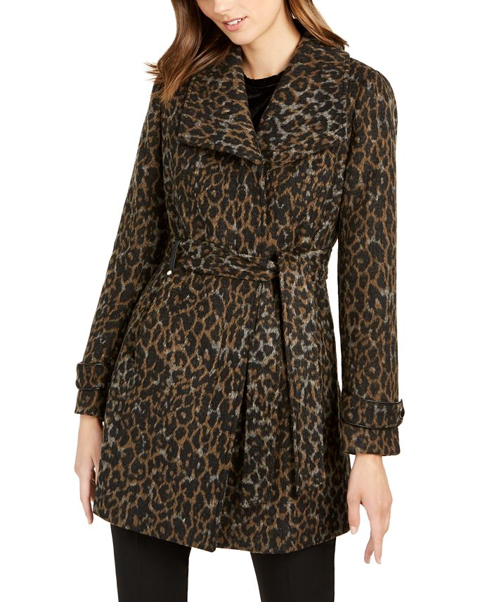 INC International Concepts - Asymmetrical Belted Coat