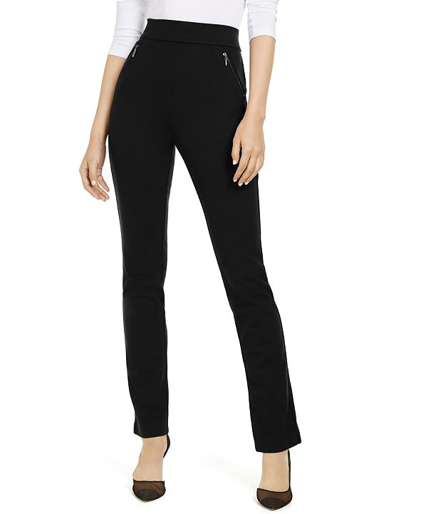 INC International Concepts INC Zip-Pocket Pants, Created for Macy's