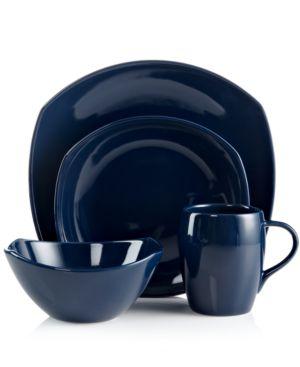 Dansk Dinnerware, Classic Fjord Nordic Blue 4-Piece Place Setting