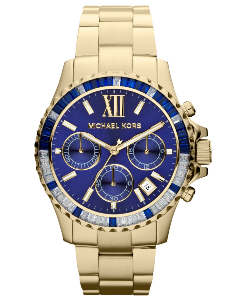 441cc16b9865 Michael Kors Womens Chronograph Camille Two Tone Stainless Steel Bracelet  Watch 43mm MK5758 Watches Jewelry   Watches