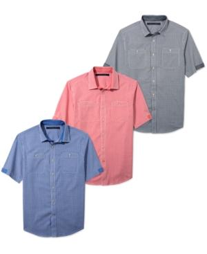 Sean John Shirt Big and Tall Gingham Check Shirt