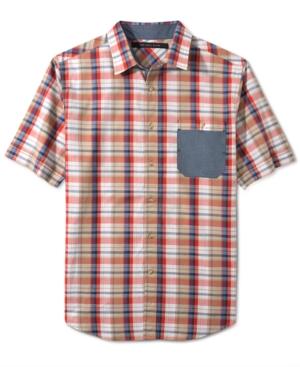 Sean John Shirt Slub Check Shirt