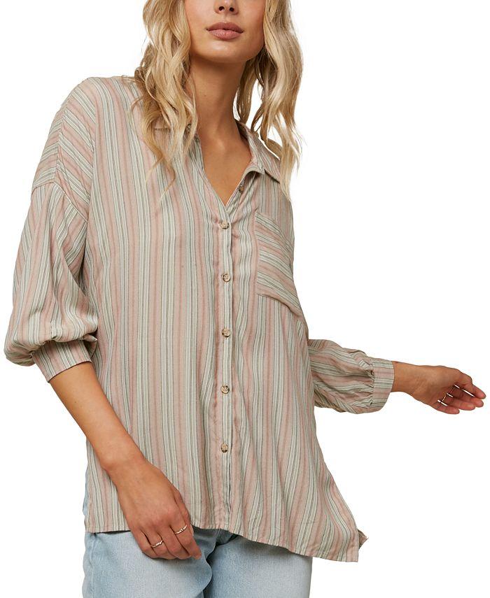 O'Neill - Juniors' Davis Striped Shirt