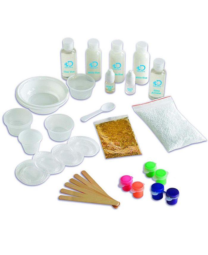 Discovery Kids - Toy Slimeology 101 DIY 5-in-1 Kit