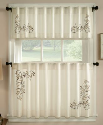 kitchen curtains & cafe curtains - macy's