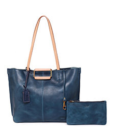 Old Trend High Hill Leather Tote Bag