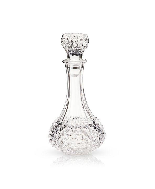 Viski Admiral Studded Glass Decanter