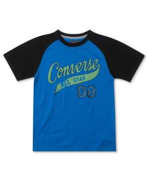 Converse Kids TShirt Boys Raglan Tee