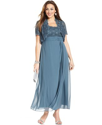 HD wallpapers alex evenings plus size dress and jacket sleeveless ...