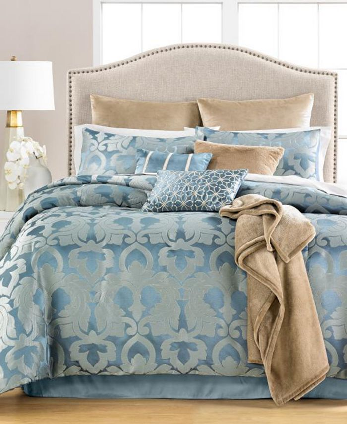 Martha Stewart Collection - Chateau Antique Filigree 14-Pc. Comforter Sets, Created for Macy's