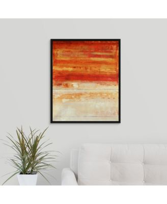 'Crimson Skies' Framed Canvas Wall Art, 20