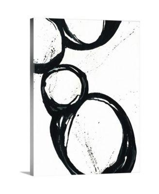 "30 in. x 40 in. ""Somer Saults II"" by  Farrell Douglass Canvas Wall Art"