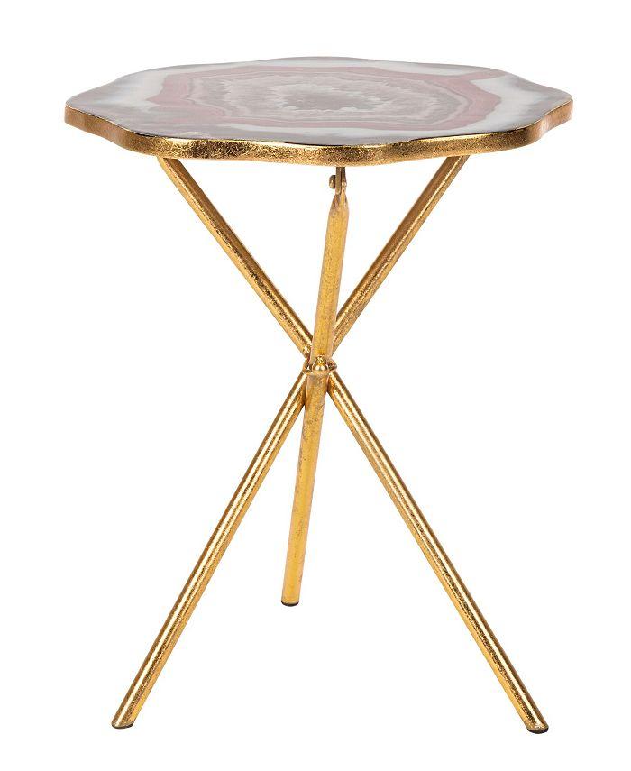Safavieh - Celeste Side Table, Quick Ship