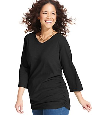 Macy Plus Size Fashion Australia Black Plus Size Sweater