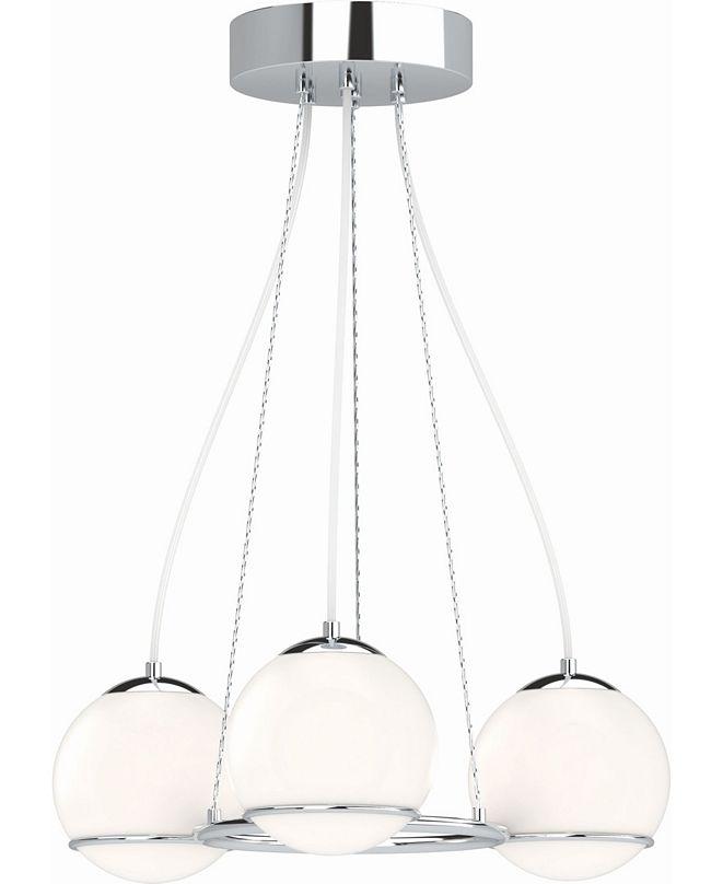Volume Lighting Preston LED 3-Light Mini Hanging Chandelier