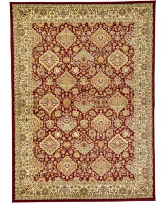 Passage Psg7 Red 7' x 10' Area Rug