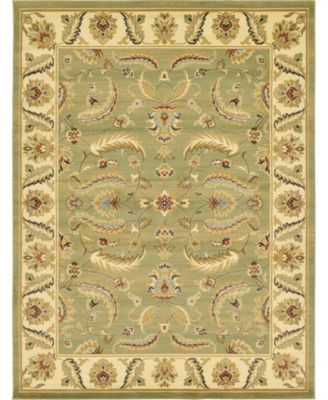Passage Psg1 Green 7' x 10' Area Rug