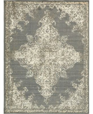 Tabert Tab7 Gray 8' x 10' Area Rug