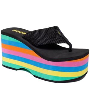 30fad3fa7fd ... UPC 886128238514 product image for Rocket Dog Big Top Platform Wedge  Thong Sandals Women s Shoes ...