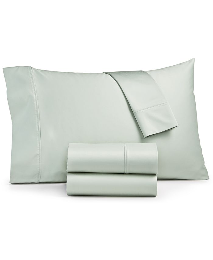 Sunham - Ashford 1500-Thread Count 4-Pc. Solid King Sheet Set