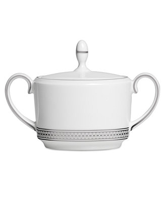 Vera Wang Wedgwood Dinnerware Moderne Sugar Bowl With Lid Reviews Fine China Macy S