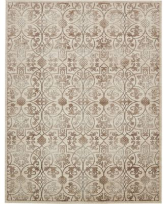 Marshall Mar6 Dark Beige 2' x 6' Runner Area Rug