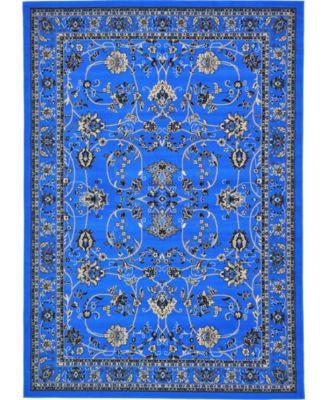 Arnav Arn1 Blue 8' x 8' Square Area Rug