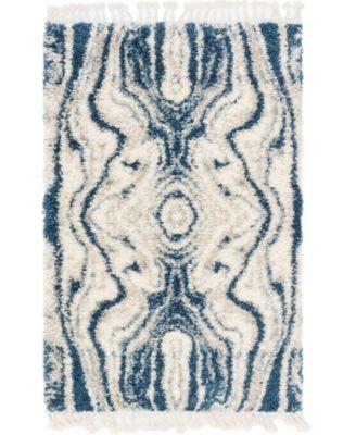 Lochcort Shag Loc4 Blue 2' 2