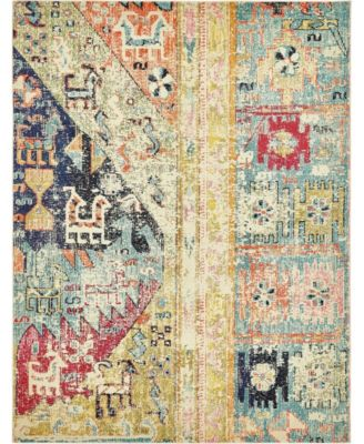 Newhedge Nhg5 Multi 9' x 12' Area Rug