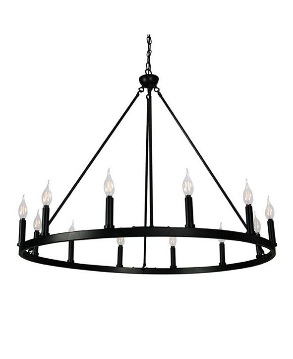 Cenports Canyon Home 12 Light Chandelier