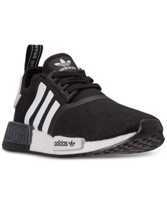adidas Big Boys' NMD R1 Casual Sneakers