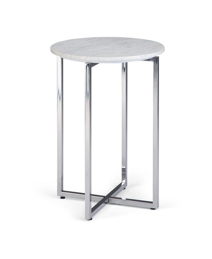 Simpli Home - Marsden Side Table, Quick Ship