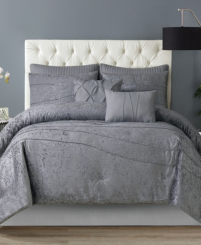 Style 212 - Julienne King 7 Piece Comforter Set