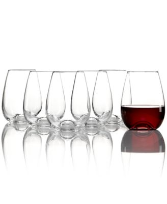 Lenox Glassware, Tuscany Classics Buy 4 Get 6 Stemless Wine Glasses