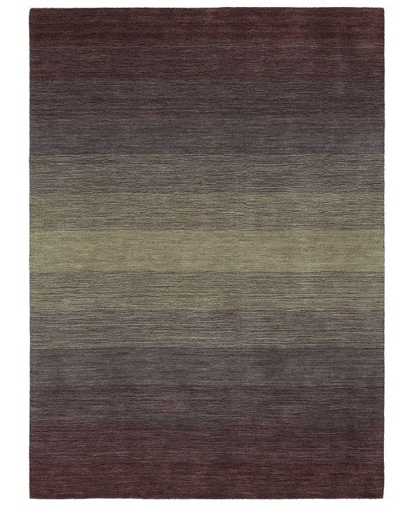 """Kaleen Shades SHD01-95 Purple 7'6"""" x 9' Area Rug"""