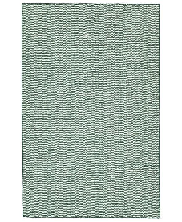 Kaleen Ziggy ZIG01-91 Teal 3' x 5' Area Rug