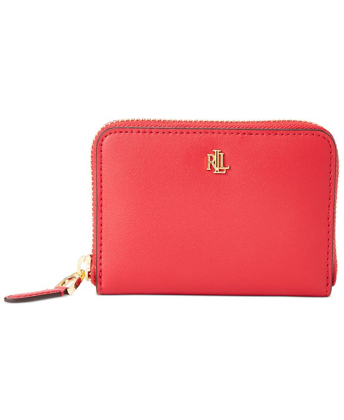 Lauren Ralph Lauren - Smooth Leather Small Zip Wallet