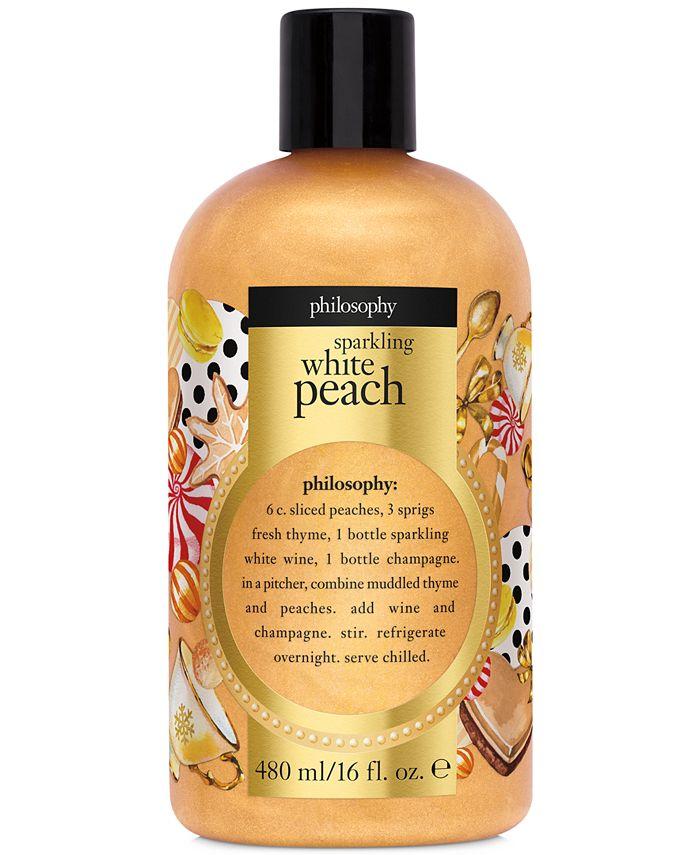 philosophy - Sparkling White Peach Shower Gel, 16-oz.