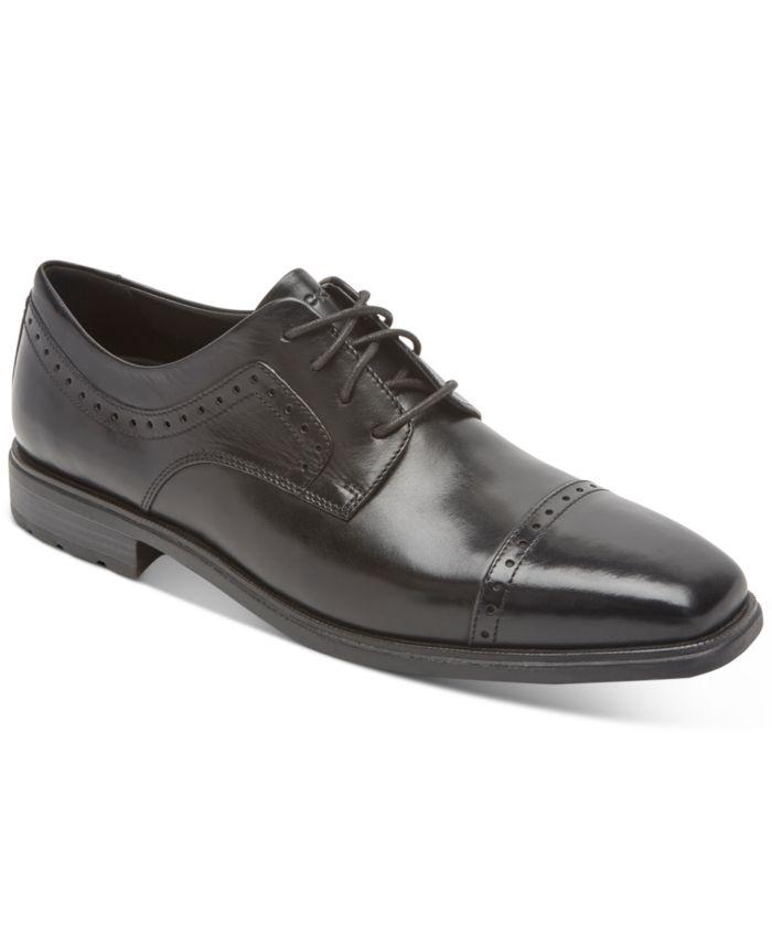 Rockport Men's Farrow Quarter Brogue Oxfords & Reviews - All Men's Shoes - Men - Macy's
