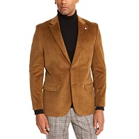 Deals on Nautica Mens Modern-Fit Active Stretch Corduroy Sport Coat