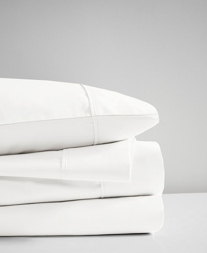 Beautyrest - 400 Thread Count Wrinkle Resistant Cotton Sateen Sheet Set