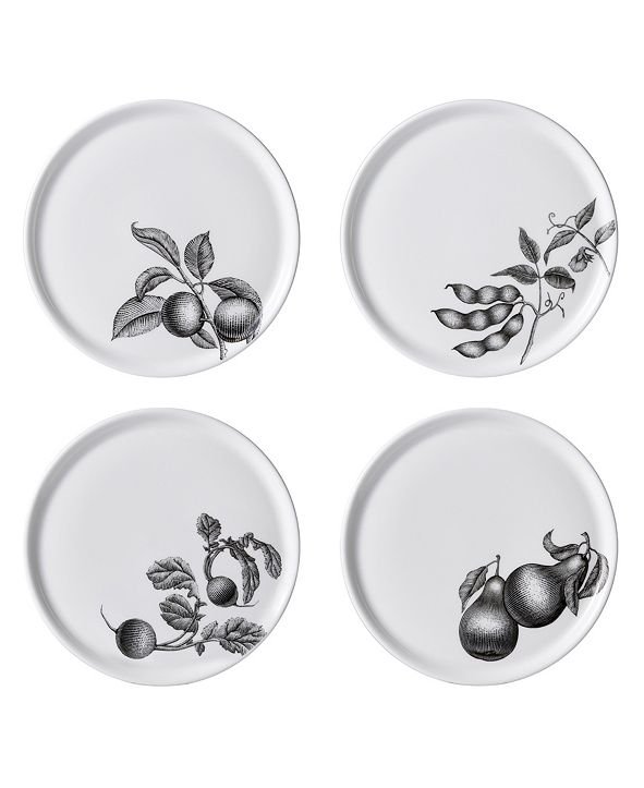 "Twig New York Olive Market 6"" Bread Plates - Set of 4"