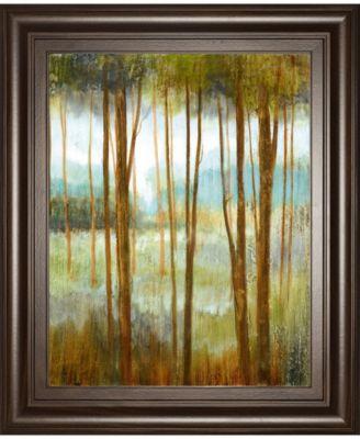 "Soft Forest I by Nan Framed Print Wall Art - 22"" x 26"""